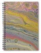 Glide Across The Galaxy Spiral Notebook