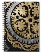 Glitterfish Iv Spiral Notebook