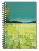 Canola Field N04 Spiral Notebook