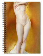 Glow Of Gold Gleam Of Pearl Spiral Notebook