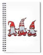 Gnomes Spiral Notebook