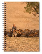 Goatherd Spiral Notebook