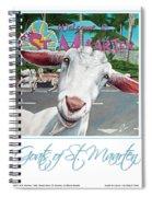 Goats Of St. Maarten- Sofie Spiral Notebook