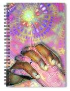 God Is Love Spiral Notebook