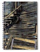 Golden Barn  Spiral Notebook