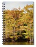Golden Bayou Spiral Notebook