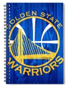 Golden State Warriors Door Spiral Notebook
