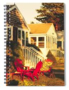 Goose Creek Beach Cottages Spiral Notebook