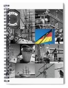 Gorch Fock 1958 Spiral Notebook