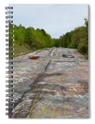 Graffiti Highway, Facing North Spiral Notebook