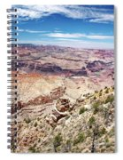 Grand Canyon View From The South Rim, Arizona Spiral Notebook