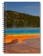 Grand Prismatic Pool IIi Spiral Notebook
