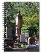 Graveyard In Charleston Spiral Notebook