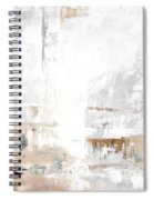 Gray Brown Abstract 12m3 Spiral Notebook