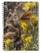 Great Spangled Fritillary 2 Spiral Notebook