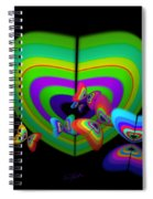 Green Image Spiral Notebook