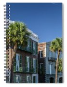 Columns By The Sea Spiral Notebook