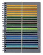 Grey Space Spiral Notebook