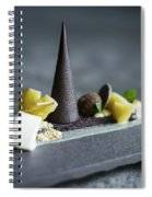 Grilled Mixed Vegetable Salad With White Cheese Spiral Notebook