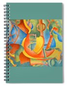 Grosse Guitare Spiral Notebook
