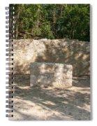 Groupo Mecanxoc At The Coba Ruins  Spiral Notebook