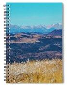 Grouse Mountain And Sangre De Cristo Spiral Notebook