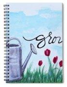 Grow Spiral Notebook