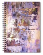 Grungy Abstract  Spiral Notebook