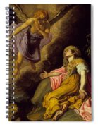 Hagar And The Angel Spiral Notebook