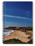 Half Moon Bay Golf Course - California Spiral Notebook