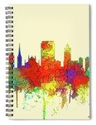 Hamilton Ont. Skyline Spiral Notebook