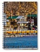 Hammondsport Docks Spiral Notebook