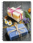 Handmade Soaps With Herbs Spiral Notebook