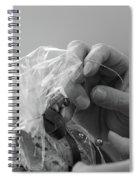 Hands Creating. Spiral Notebook