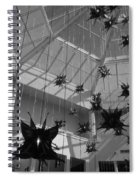 Hanging Butterflies Spiral Notebook