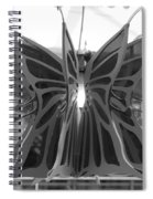 Hanging Butterfly Spiral Notebook