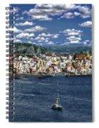 Harbor In Corricella Spiral Notebook