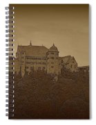 Harburg Castle - Digital Spiral Notebook