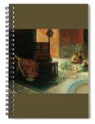Harem Scene Henry Siddons Mowbray Spiral Notebook