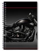 Harley Davidson Vrscd Night Rod Special Spiral Notebook