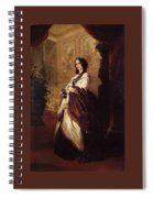 Harriet Howard Duchess Of Sutherland Franz Xavier Winterhalter Spiral Notebook