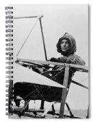 Harriet Quimby (1875-1912) Spiral Notebook