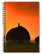Harvest Sunset  Spiral Notebook