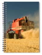 Harvesting Wheat Spiral Notebook