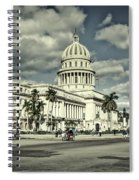 Havana National Capitol Spiral Notebook