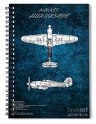 Hawker Hurricane Spiral Notebook