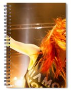 Hayley Williams Spiral Notebook