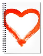 Heart - Symbol Of Love Spiral Notebook