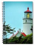 Heceta Lighthouse Spiral Notebook