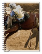 Helluva Rodeo-the Ride 6 Spiral Notebook